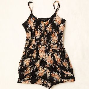 Lucca Couture Floral Romper